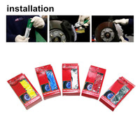 Wholesale 18 Rear - L size 3D Caliper covers Brake pliers covers ABS Calipers Front Rear Disc Cover Kit suit for more than 18 inch tyre
