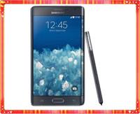 Wholesale Note Phones Accessory - Refurbished Original Samsung Galaxy Note 4 Edge N915A N915T N915P N915V N915F Unlocked Cell Phone 3GB 32GB 5.6 inch 2560x1440 16MP