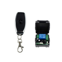 Wholesale Wireless Door Access Control - Wholesale- Free shipping DC12V 433MHz metal wireless remote control switch for door lock access control remote exit button of door key-JS