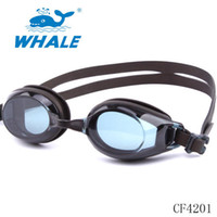 Whale Professional Water Sports Diving Glasses Équipement de plongée sous-marine Waterproof UV Swimming Racing Goggles soft silicone anti-fog swimming