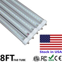 Wholesale Pin Sign - 8ft LED Light Tube for Sign 45W Single Pin FA8 LED Tube 8 ft feet Repalcement LED Fluorescent Lamp SMD2835 AC85-265V