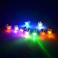 ingrosso lampeggianti illuminano gli orecchini-All'ingrosso- 1 paio di orecchini LED Light Up lampeggiante lampeggiante Orecchini in acciaio inox Studs Dance Party Accessories H7