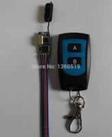 Wholesale Tx Rc Remote - Wholesale- DC3.6V 3.7V 4.5V 5V 6V 7.4V 9V 12V RF RC Remote Controller Wireless Receiver RX Transmitter TX Light LED Lamp Power Remote ONOFF