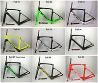 Wholesale Matte Foil - 2017 Foil Carbon Road Bike Frame UD Weave PF30 Bicycle Frameset racing bicycle frames size 47cm 49cm 52cm 54cm