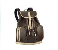 Wholesale Leather Backpack Vintage Genuine - Free Shipping high quality genuine leather women's backpack BOSPHORE 40107 Backpack ladies backpack travel bags school bag
