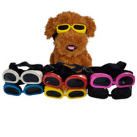 Wholesale Sunglasses Pet - Pet Fashion Series Dog Sunglasses Goggles Windproof Anti-glare Anti-Dust Dog Glasses free size 6 colors wholesale free shipping