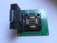 enchufes yamaichi al por mayor-Adaptador QFP100 LQFP100 TQFP100 Yamaichi IC51-1004-809 Adaptador de programación de socket IC Test 0.5mm Pitch