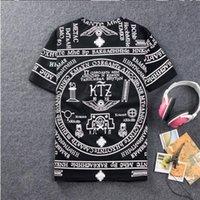 Wholesale Rhude La - Wholesale- 2016 brand RHUDE LA Bandana Print camisetas masculinas HARAJUKU ktz t shirt men cotton hip hop tshirt mens fashion swag fitness