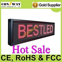 Wholesale Scrolling Screen - Free shipping led scrolling panel screen with RGB color and size 168cm(W)*40cm(H)*9cm(D)