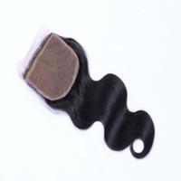 ingrosso vendita di chiusura superiore dei capelli-La vendita calda 4x4
