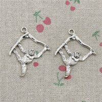 Beads & Jewelry Making Jewelry & Accessories Vintage Silver Color Monkey Flower Rabbit Love Heart Alloy Charm Beads Fit Pandora Bangles Necklaces Women Diy Jewelry Colares For Sale