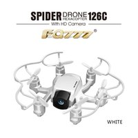 Wholesale Dual Axis Controller - FQ777 126C MINI RC Dual Mode With 2.0MP HD Camera 2.4GHz 4CH 6 Axis Gyro Switchable Controller RC Quadcopter Headless Mode RTF
