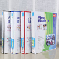 Wholesale Acryl Bags - Storage Rack Metal Office File Student Data Book Receiving Clamp PVC Texture Of Material Colorful Cuboid Folder 5 3br J R