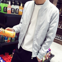 Wholesale mandarin men - Fashion high street men clothes clothing black mens jackets multi colors pilot flight Jacket Man Waterproof Men bomber jacket