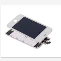 Wholesale iphone 4s cdma lcd - For iPhone 4 4S High Quality New Test LCD Touch Screen Digitizer CDMA GSM Replacement White Black