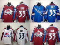 5907f09c38e Ice Hockey Unisex Full Mens 2016 Cheap Colorado Avalanche Hockey Jerseys   33 Patrick Roy Jersey