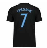 Wholesale S M Wear - 2017 France Away Griezmann 7 Thai Quality Football Jerseys tops,Customized Mbappe 12 Soccer Jerseys shirts,9 Giroude 11 Dembele Soccer Wear