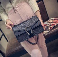 Wholesale European Hand Bags - Wholesale-high quality top women handbag famous brand shoulder bag luxury fashion Clutch messenger bag women hand bag sac a main femme