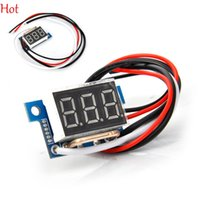 Wholesale 0 inch DC Amp Ammeter A Red LED Digital Current Panel Amperes Meter Board Current Meters Home Use Tool TK1220