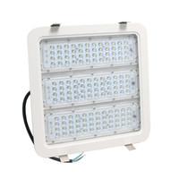 Wholesale garage cooling - 100w LED Flood Light 6000K Daylight White IP65 Retrofit LED Gas Station Lights Led Garage Canopy Lighting