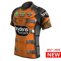 Wholesale Marvel Specials - Wests Tigers 2017 Marvel 'Rocket Raccoon' Jersey Rugby Jerseys Shirts Special Edition The pre-sale Top quality