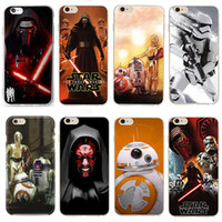 Wholesale Iphone Cases Print - Star Wars Cool Portrait Art Printing Cover For iPhone 6s 6 5S 5 Starwars Soft TPU Case