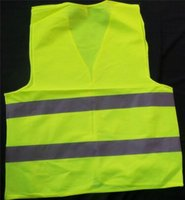 Wholesale High Visibility Motorcycle Vests - high visibility Reflective vest T-shir fluorescent safety clothing sanitation motorcycle traffic road vest clothes for work