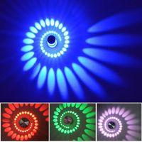 Wholesale porch decor resale online - Modern W LED wall lamp Aluminum Wall Light for passage Corridor Porch Bedroom KTV DJ Club background led Lighting AC85 V Christmas decor