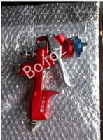 Wholesale Brand New Air HVLP BRP Red Limited Edition Paint Spray Gun Gravity mm Painting Car body