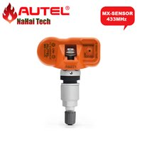 Wholesale Mx 433 - Wholesale- 100% Original AUTEL MX-SENSOR 433MHz Universal Programmable TPMS Sensor MX Sensor 433 MHz for Tire Pressure Monitoring System