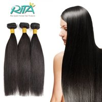 Wholesale Brazilian Virgin Stright - 50g Peruvian Virgin Human Hair Natural Color Peruvian Stright Virgin Hair Cheap Unprocessed 7A Hair Bundles Straight Extensions