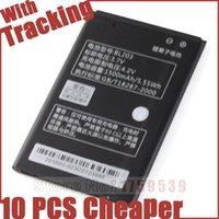 Wholesale Lenovo A278t Battery - BL203 BL-203 battery Mobile Phone Batteries For Lenovo A278T A278 A365E A308T A369 A66 A318T A385E