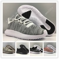 Cheap Mens Womens Originals Tubular Shadow Knit Core Preto Branco Cardboard mens Running Shoes para homens 350 Sneakers boost tamanho 3D US 5-11