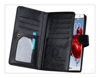 Wholesale Magnetic Photo Holders Wholesale - Hot DHL Magnetic 2 in 1 Wallet Leather With 9 Card Holders+Cash Slot+Photo Frame Phone Case & For iPhone 6 7 Plus
