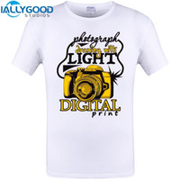 Wholesale Photography People - IALLYGOOD STUDIOS 2017 Fashion T Shirts I Shoot People T-shirts Funny Photographer Camera Photography Tshirts Casual Personalize