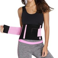 Wholesale thin slim waist belt - S-2XL Unisex Breathable Thin Xtreme Power Belt Hot Slimming Thermo Shaper Waist Shaper Cincher Waist Trainer