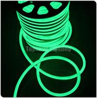 12v led-beleuchtung kommerziellen großhandel-Handels-20m Spule 14 * 26mm super helles flexibles geführtes Neonlicht 12V 120SMD / M Neonröhre, die RGB ausstrahlt, führte den wasserdichten Neonflex