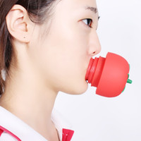 Wholesale Sexy Full Body Silicone - 1PC Tomato Sexy Full lip plumper Enhancer lips plumper tool device Or Super Suction Family Body Cupping Cups Massage silicone