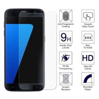 Wholesale S4 Tempered - Tempered Glass for Samsung Galaxy S7 S3 S5 S4 Mini Grand Prime G530 Screen Protector for Samsung J1 J3 J5 J7 A3 A5 A7 2016 Film