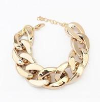 ingrosso bracciali in oro plastico-Bracciale Bangle Pretty Fashion Jewelry Argento 925 placcato in lega di plastica Bracciale Accessori Braccialetti con ciondolo
