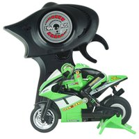 Wholesale high speed motorcycle - Wholesale- 2017 new mini remote control motorcycle 2.4 high speed racing model with gyroscope child gift