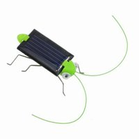 Wholesale Toy Locusts - Wholesale-Creative Fun Solar Power Robot Insect Locust Grasshopper Kids Educational Toy