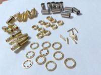 Wholesale Crimp Set - 100pcs sets copper SMA Female Crimp Connector for Coaxial RG58 LMR195 cable