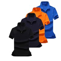Wholesale Drop Shipping Shirts - Wholesale 2016 Summer Hot Sale Polo Shirt USA American Flag Brand Polos Men Short Sleeve Sport Polo 309# Man Coat Drop Free Shipping