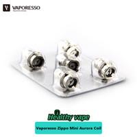 Wholesale Aurora Kit - Original Vaporesso CCELL Coil 1.4ohm for Zippo Mini Aurora Vape Starter Kit 5pcs pack Aurora Coil Head