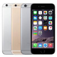 ingrosso 3g cellulare doppio nucleo-Originale iPhone sbloccato da 4,7 pollici Apple iPhone 6 con impronta digitale Dual Core 1.4GHz 8.0MP Fotocamera 3G WCDMA Telefono cellulare ricondizionato