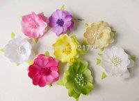 Wholesale Shoes Artificial Flowers - estive Party Supplies Decorative Wreaths mini artificial flowers festival home wedding decorative flower silk flower for shoes hats d...