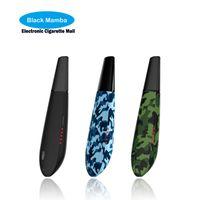 Wholesale E Cigarrette - 100% Original Black Mamba Venom Dry herb Vaporizer Vapor Vape Pen Herbal Portable E Cigarrette ecig Kit