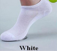 Wholesale short silk socks - AA+ top quality wholesale socks brand quality polyester casual breathable 3 Pure Colors sports Mesh short boat socks for men women youth