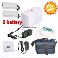 Wholesale Oxygen Generators For Home - Portable Oxygen Concentrator Generator + 2 Battery for Home Care Home Travel Car